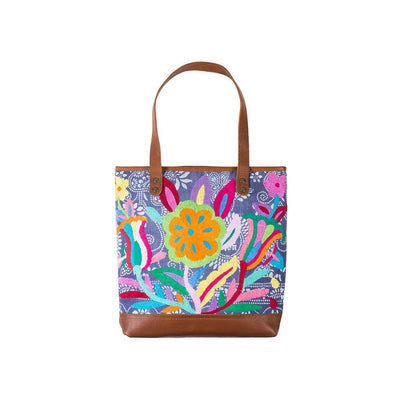 Otomi Flores Tote Tote WillLeatherGoods 15