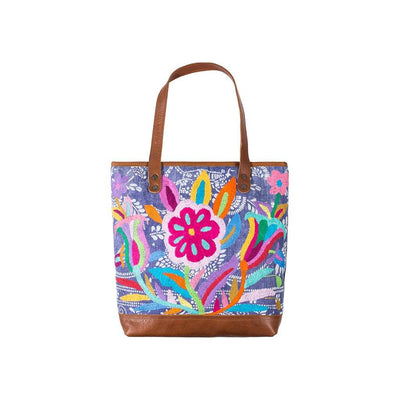 Otomi Flores Tote Tote WillLeatherGoods 18