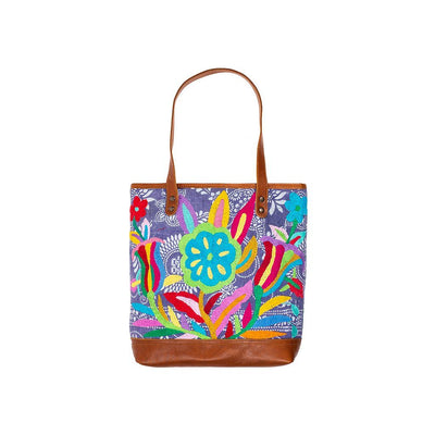 Otomi Flores Tote Tote WillLeatherGoods 22