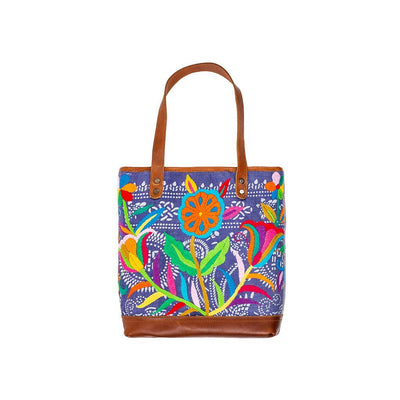 Otomi Flores Tote Tote WillLeatherGoods 23