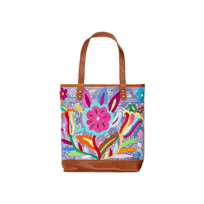 Otomi Flores Tote Tote WillLeatherGoods 29