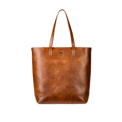 Simple Tote Tote WillLeatherGoods Tan