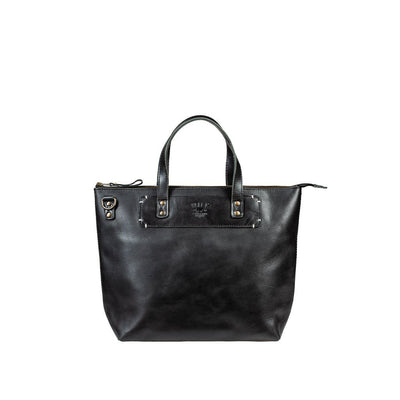 Simple Satchel Satchel WillLeatherGoods Black