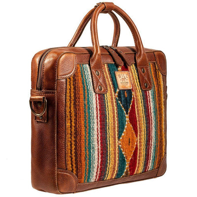 Oaxacan Briefcase Messenger WillLeatherGoods LAST CHANCE