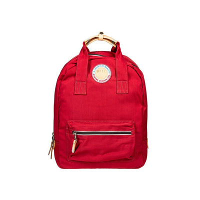 Light & Bright Backpack Backpack WillLeatherGoods Maroon