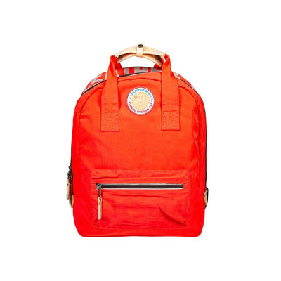 Light & Bright Backpack Backpack WillLeatherGoods Red