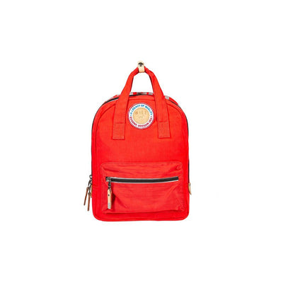 Light & Bright Mini Backpack Backpack WillLeatherGoods Red