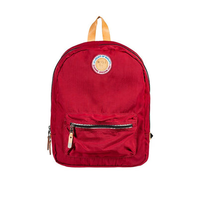 Light & Bright Packable Backpack Backpack WillLeatherGoods Maroon