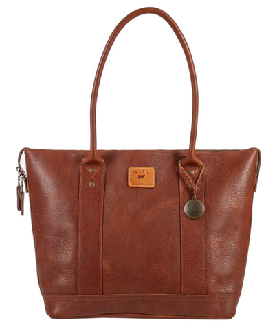 Twenty Four Seven Leather Tote Tote WillLeatherGoods Cognac