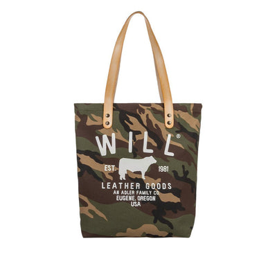 North South Tote Tote WillLeatherGoods Camouflage