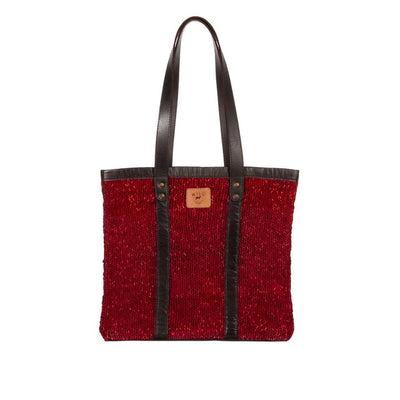Unity Tote Tote Will Leather Goods Brick Red