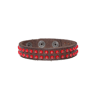 Double Row Studded Cuff