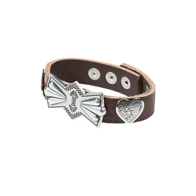 Heart and Bow Concho Cuff