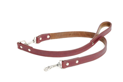 Napoli Dog Leash w/ Double Hook Pet WillLeatherGoods