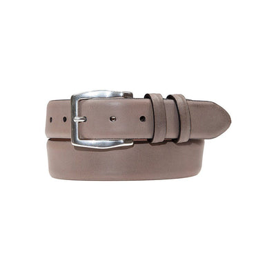 Grey Artisan Belt with Silver Buckle