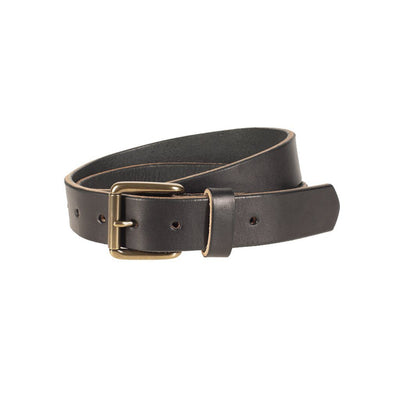 USA Saddle Leather Classic Belt Belt WillLeatherGoods Black 32
