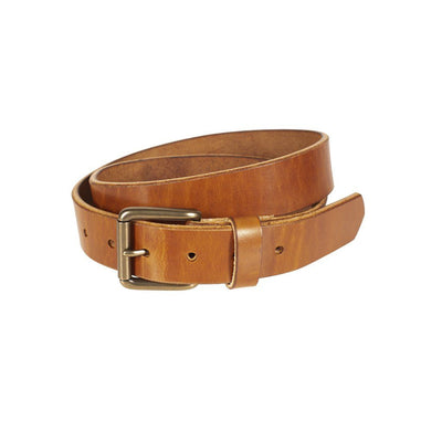 USA Saddle Leather Classic Belt Belt WillLeatherGoods Tan 32