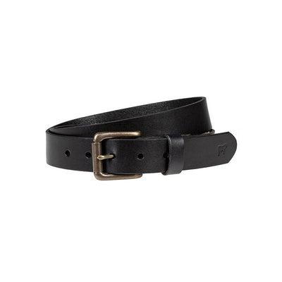 Classic Saddle Leather Belt Belt WillLeatherGoods Black 30