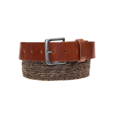 Horse Hair Arrow Belt Clydsedale Brown