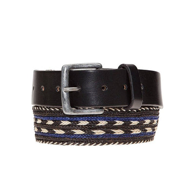 Horse Hair Arrow Belt Cobalt