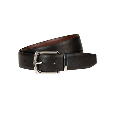 Croft Reversible Belt Belt WillLeatherGoods Black / Brown 32