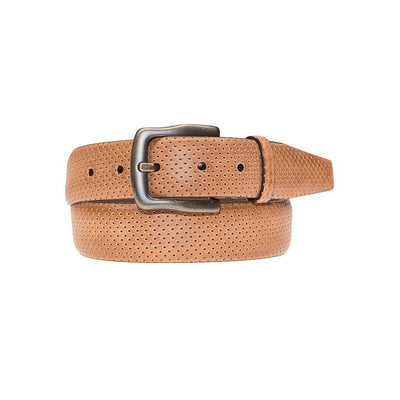Ollie Belt Belt WillLeatherGoods LAST CHANCE Tan 42