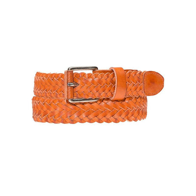 Beulah Belt Belt WillLeatherGoods LAST CHANCE Orange XS