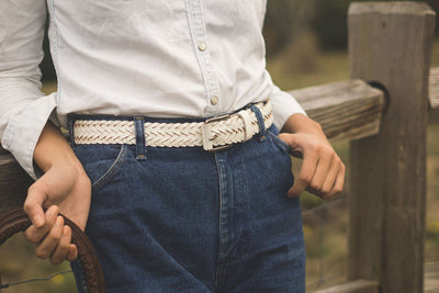 Beulah Belt Belt WillLeatherGoods LAST CHANCE