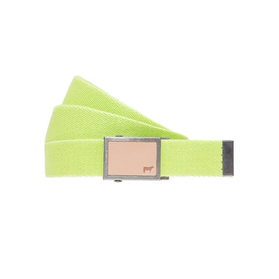 Gunner Belt Citron Cotton