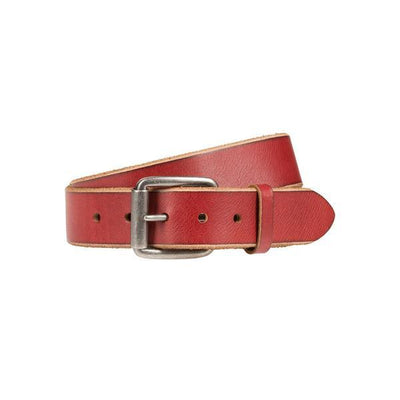 Harlequin Belt Belt WillLeatherGoods LAST CHANCE Cherry 42
