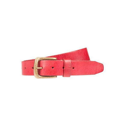The Original Luxe Belt Belt WillLeatherGoods LAST CHANCE Red 42