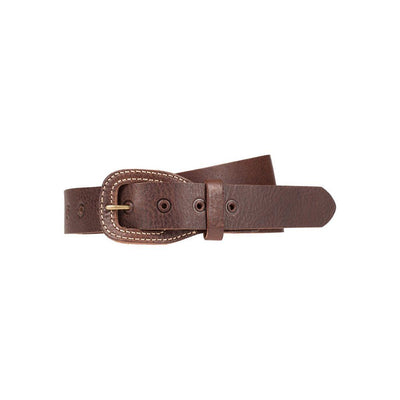 Stacked Buckle Belt Brown