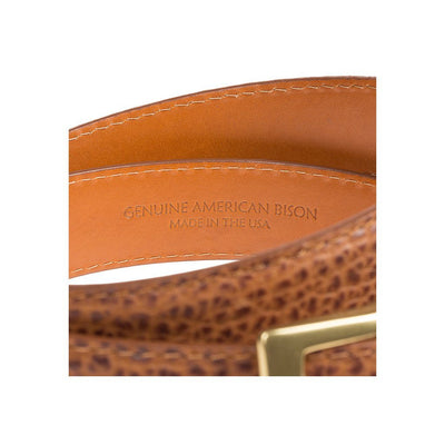 35mm Fe American Bison Belt