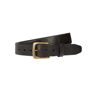 Luxe Belt Belt WillLeatherGoods Chocolate 30