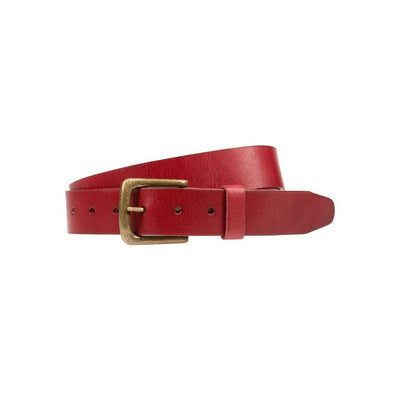 Luxe Belt Belt WillLeatherGoods Red 32