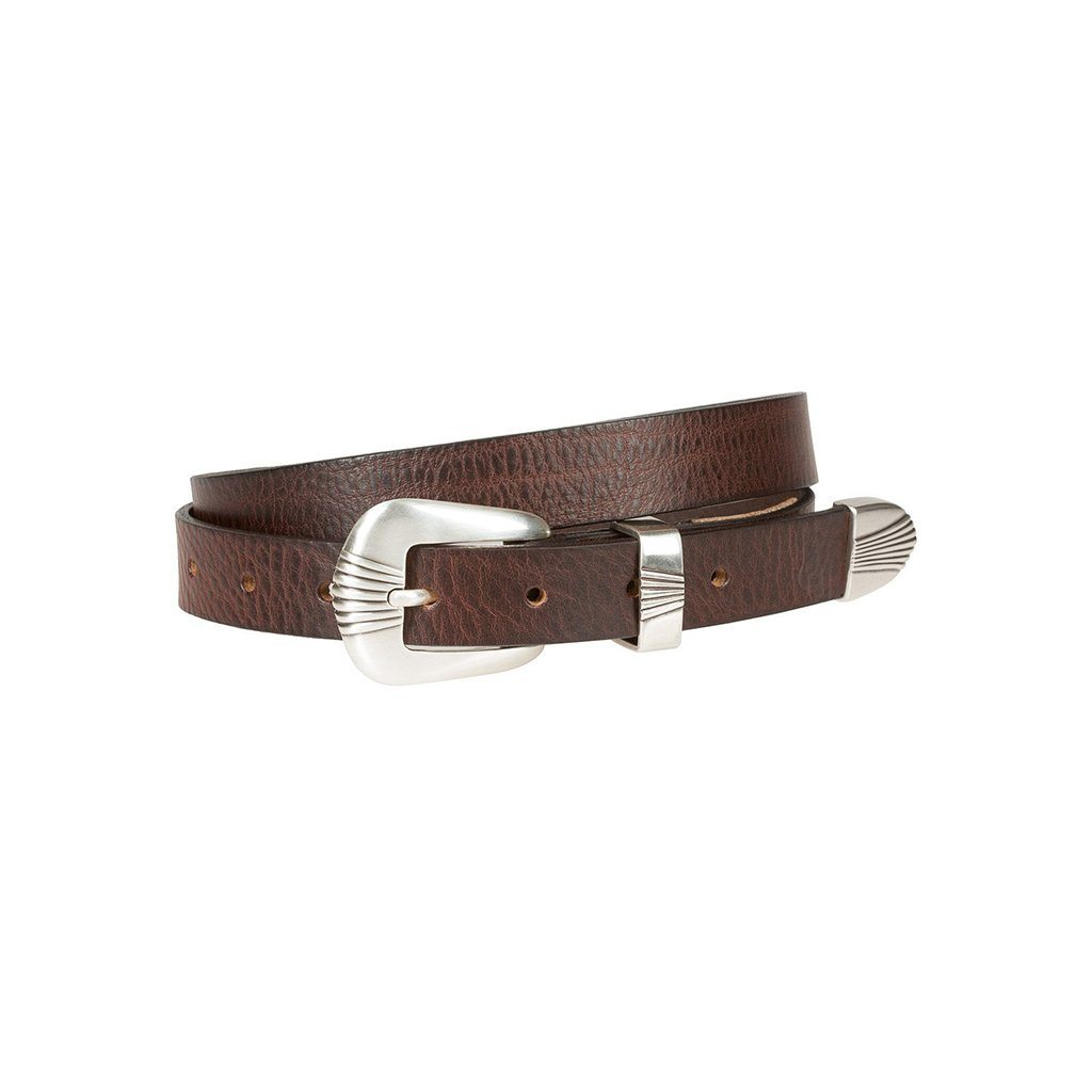 Scallop Buckle Belt