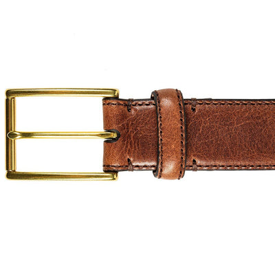 William 35mm Feather Edge Belt Belt WillLeatherGoods