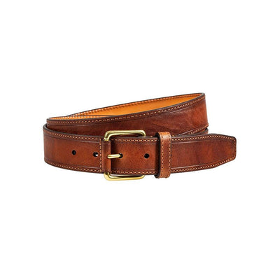 William 38mm Jean Belt Belt WillLeatherGoods Cognac 32