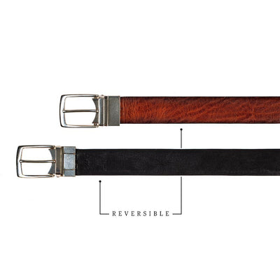 William 35mm Reversible Belt Belt WillLeatherGoods