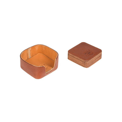 Reversible Coaster Set Case and Coasters