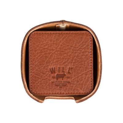 Reversible Coaster Set Cognac Top