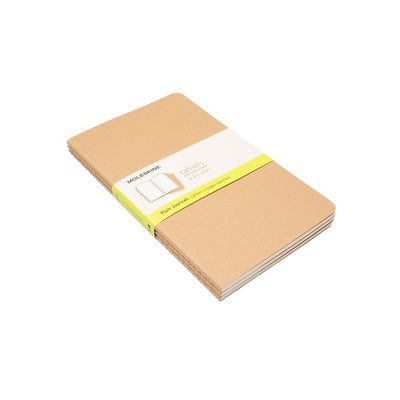 Moleskine Insert - Set of 3 Office WillLeatherGoods Medium