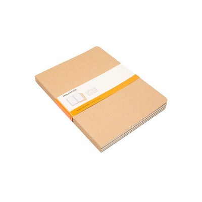 Moleskine Insert - Set of 3 Office WillLeatherGoods Large