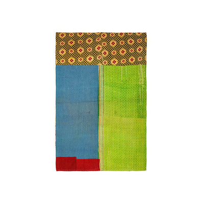 Kantha Quilt -- Worn Textile WillLeatherGoods WORN 94 Final Sale