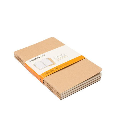 Moleskine Insert - Set of 3 Office WillLeatherGoods Small
