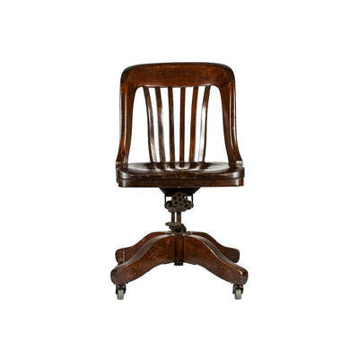 Wooden and Metal Chair Antique WillLeatherGoods 1