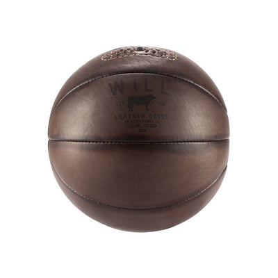 Golden Age Basketball Sport WillLeatherGoods LAST CHANCE Dark Brown Final Sale