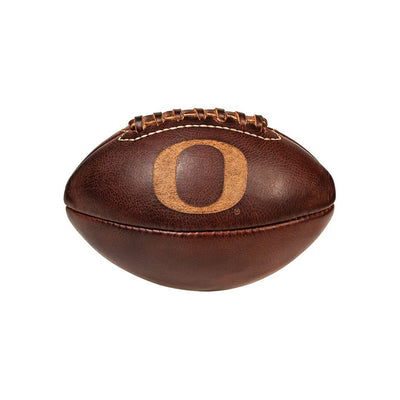 U of O Golden Age Mini Football Sport WillLeatherGoods Tan