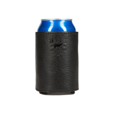 Beer Koozie Cognac Black