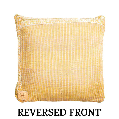 Reversible Kantha Pillow Cover